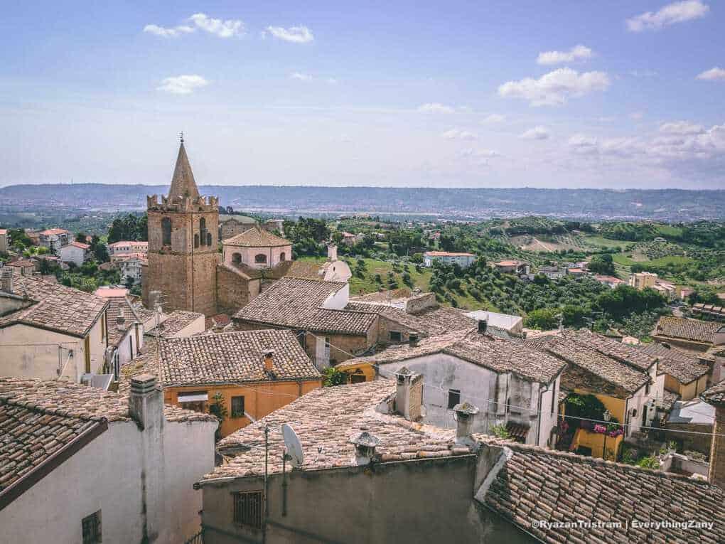 View of Spoltore Abruzzo