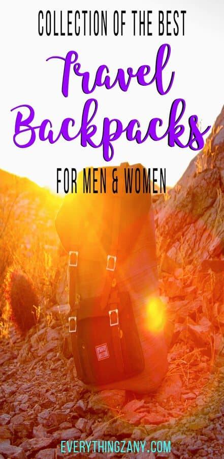 Best Travel Backpacks for Men and Women