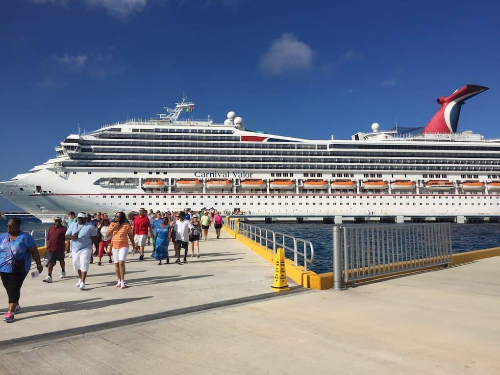 Carnival Valor on Central America Cruise
