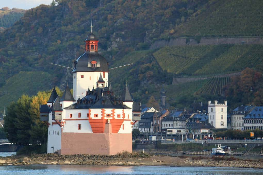Rhine River Cruise as best cruise destinations