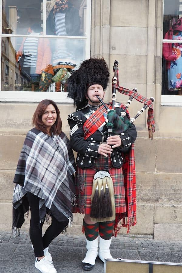 Scottish Kilts and Tartans in Edinburgh