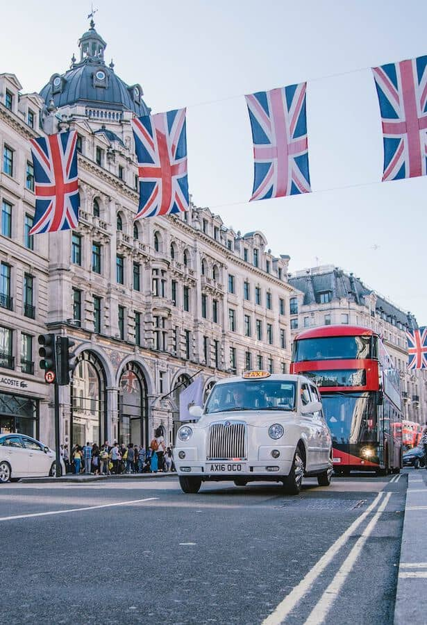 UK transportation in London