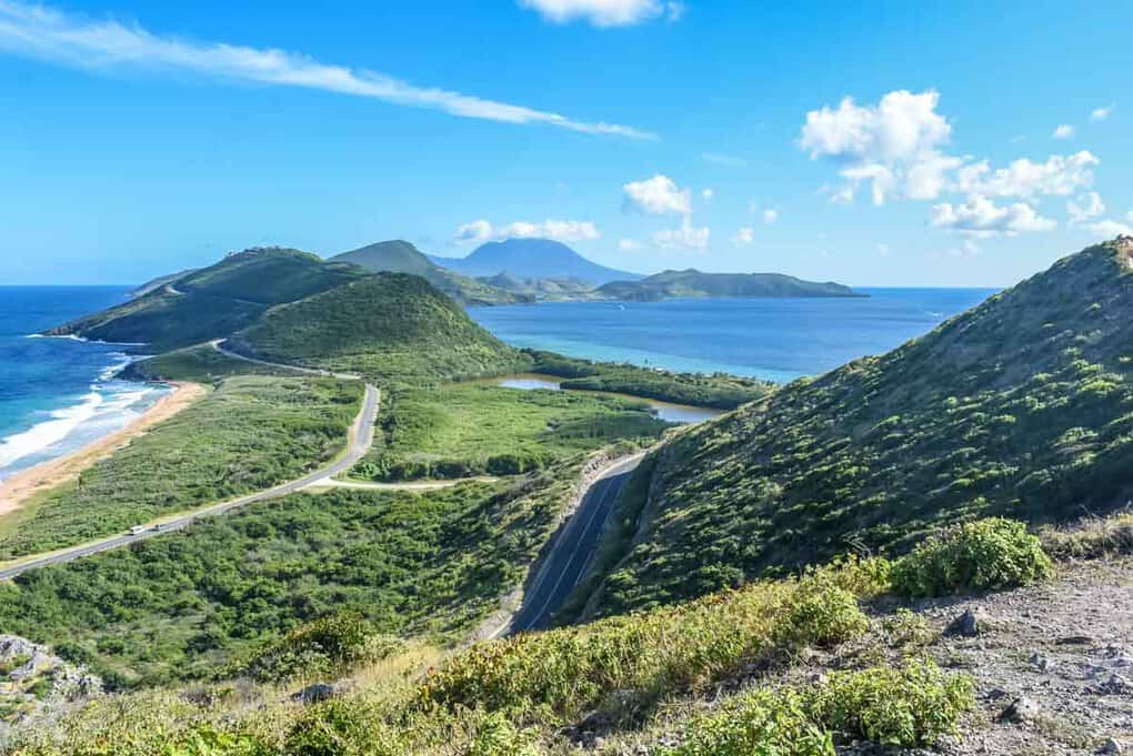 View from Sir Timothys Hill St Kitts