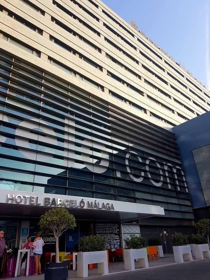Barcelo Hotel in Malaga Spain