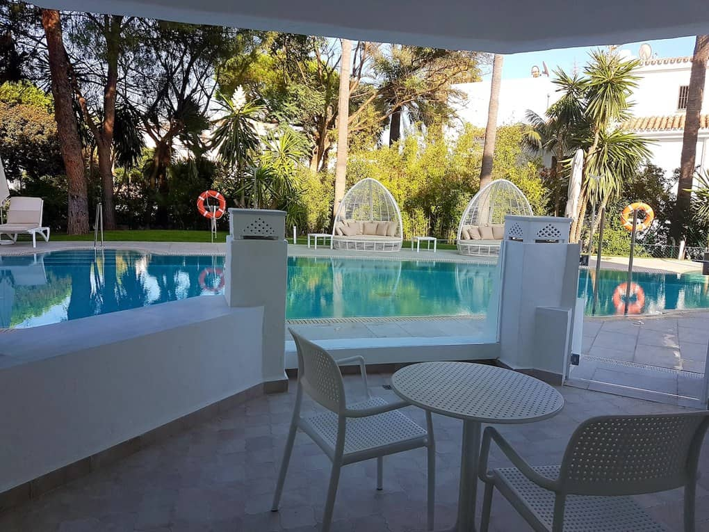 Hotel in Marbella with private pool