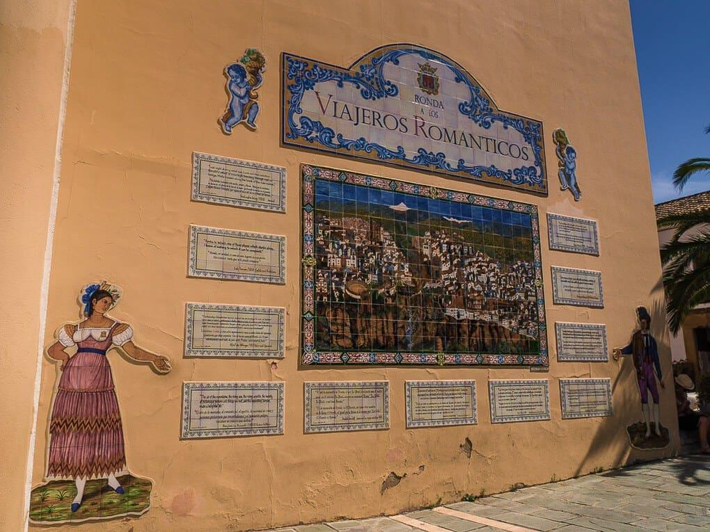 Romantic Travellers in Ronda