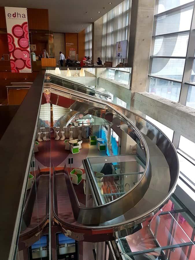 Slide at Barcelo Hotel in Malaga