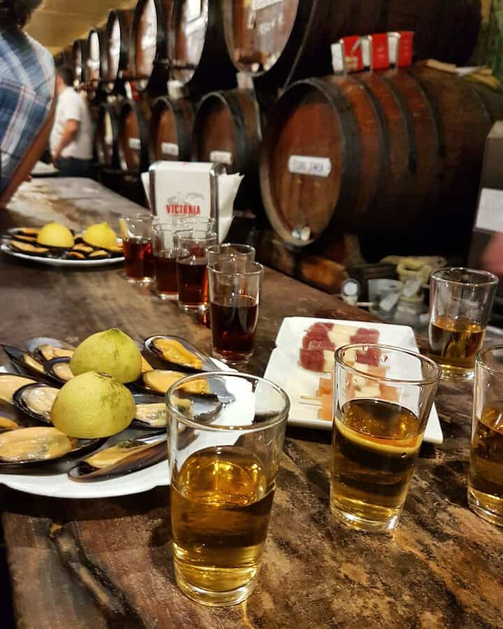 Tapas and Wine in Malaga