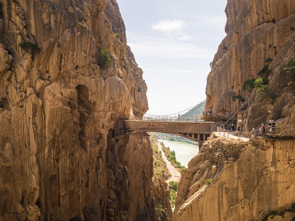 The Bridge in Caminito Del Rey Spain