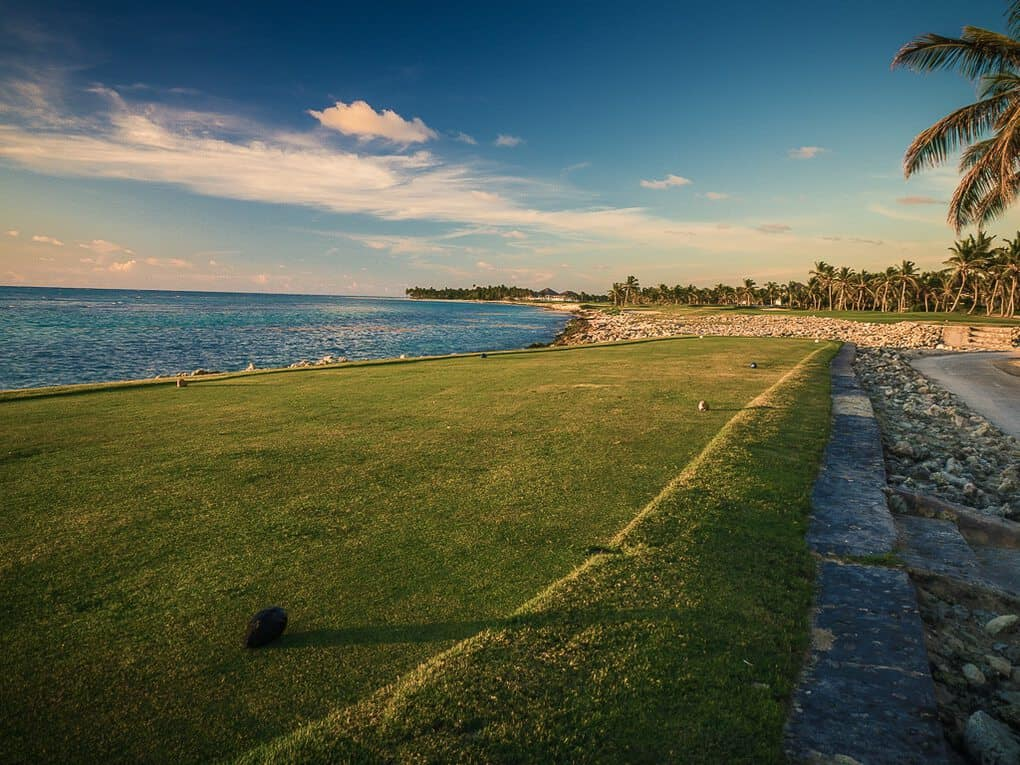 Golf Course in Puntacana Resort and club