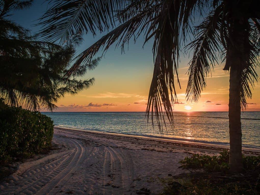 Sunrise in Punta Cana Dominican Republic