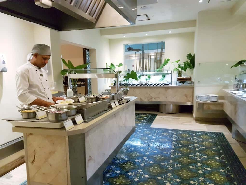 The Westin Punta Cana Buffet Breakfast