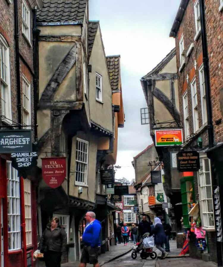 The Shambles in York UK