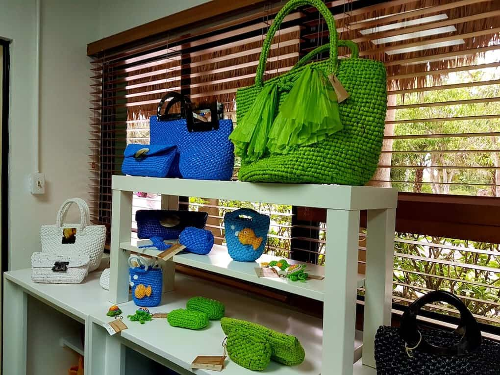 Puntacana Foundation Recycled Bags