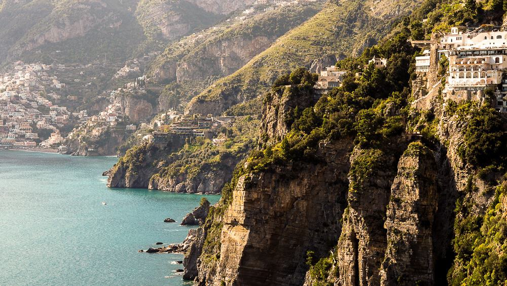Backpacking Travel Around Europe By Train Itinerary For 2 Weeks - Amalfi Coast