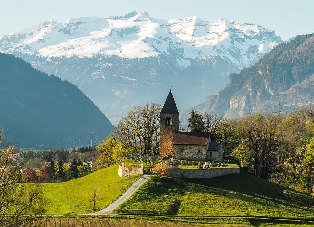 Backpacking Travel Around Europe By Train Itinerary For 2 Weeks - Bernina Express Switzerland