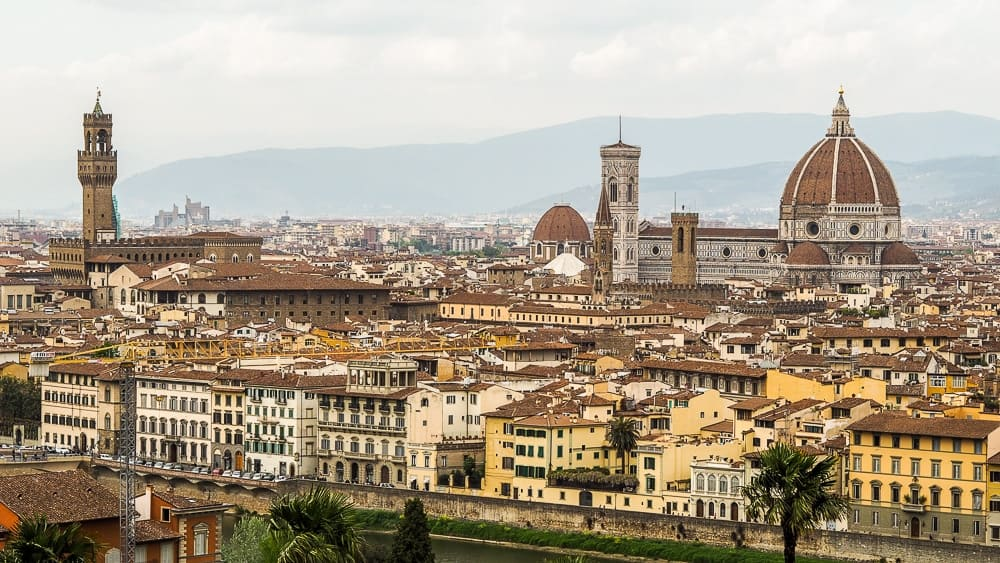 Backpacking Travel Around Europe By Train Itinerary For 2 Weeks - Florence