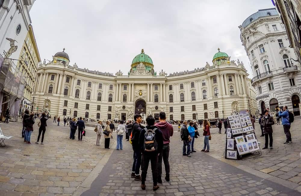 Backpacking Travel Around Europe By Train Itinerary For 2 Weeks - Hofburg Wien