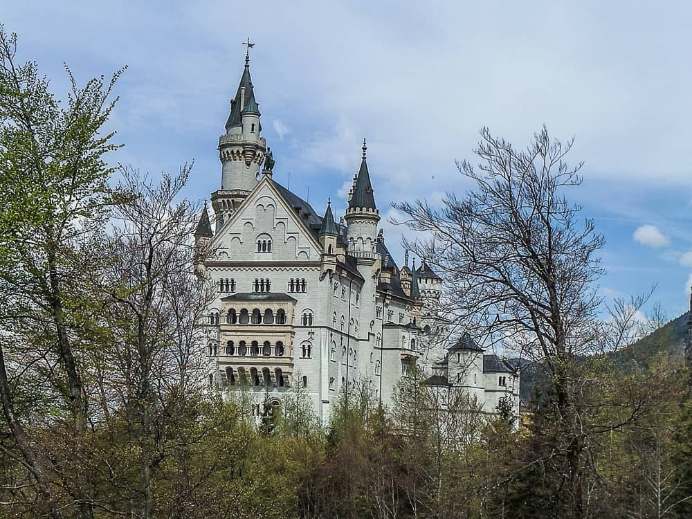 Backpacking Travel Around Europe By Train Itinerary For 2 Weeks - Neuschwanstein Castle in Fuessen Germany
