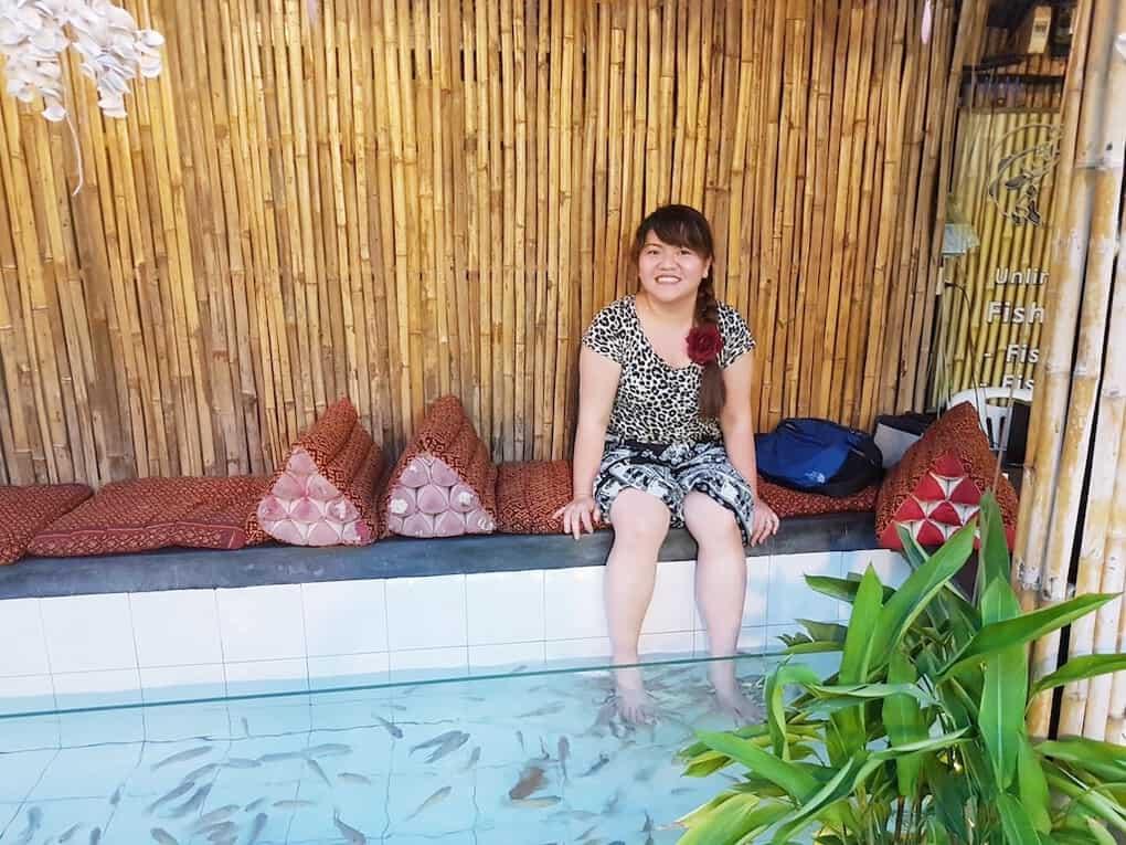 Fish Spa in Siem Reap Cambodia