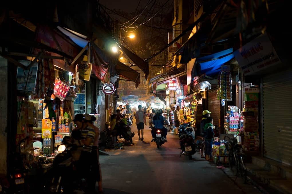 things to see in Hanoi  - Hanoi Night Market