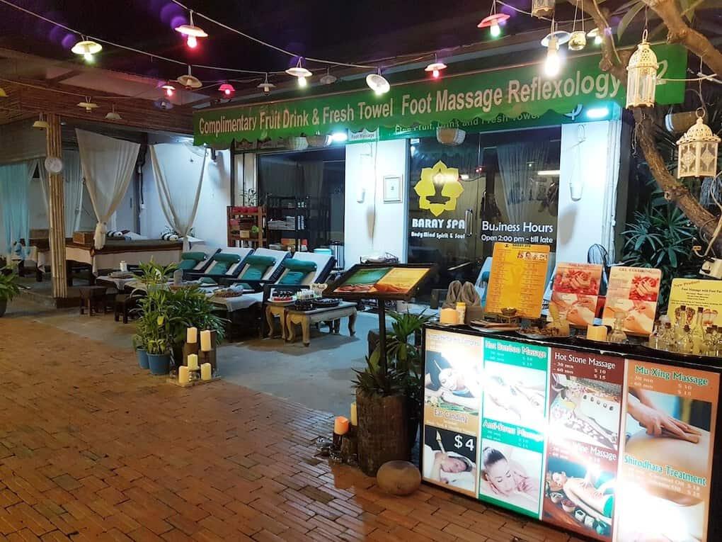 Massage in Siem Reap Cambodia