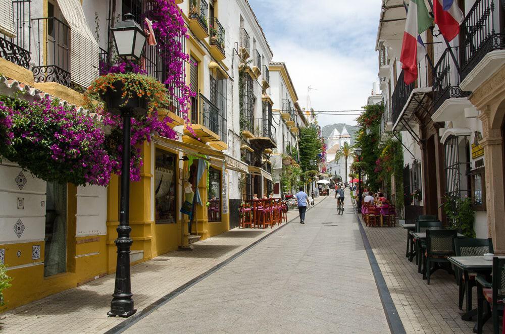Old Town Marbella Spain