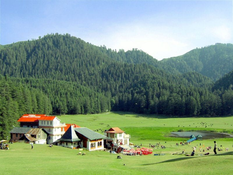 Places to visit in India-north-hill-station-khajjiar