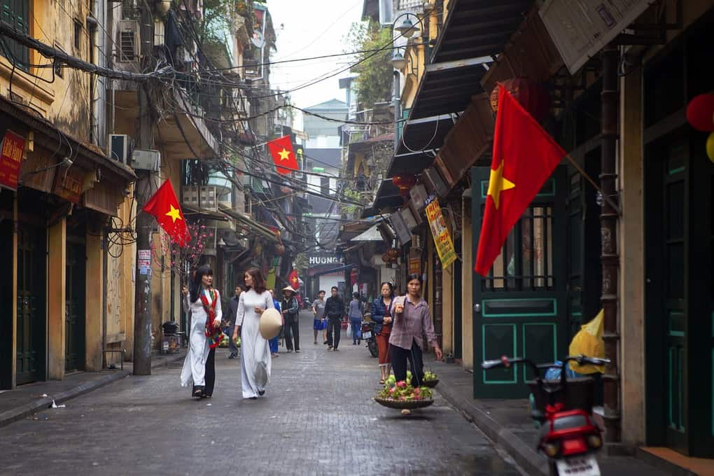 Hanoi Attractions: Hanoi Old Quarters