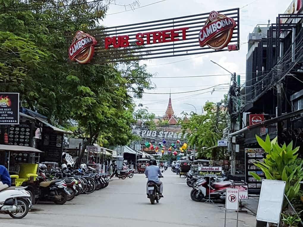 pub street in siem reap cambodia