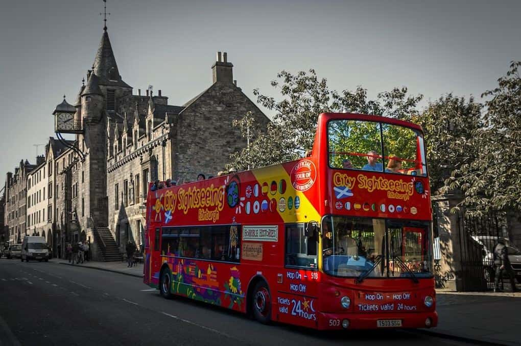 Bus Tours in Edinburgh