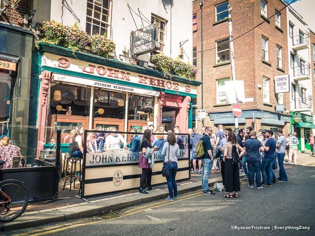 John Kehoe Pub in Dublin Ireland