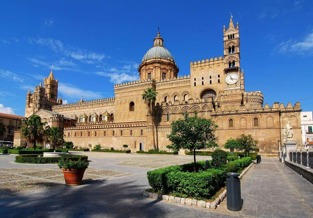 Palermo cathedral in Sicily
