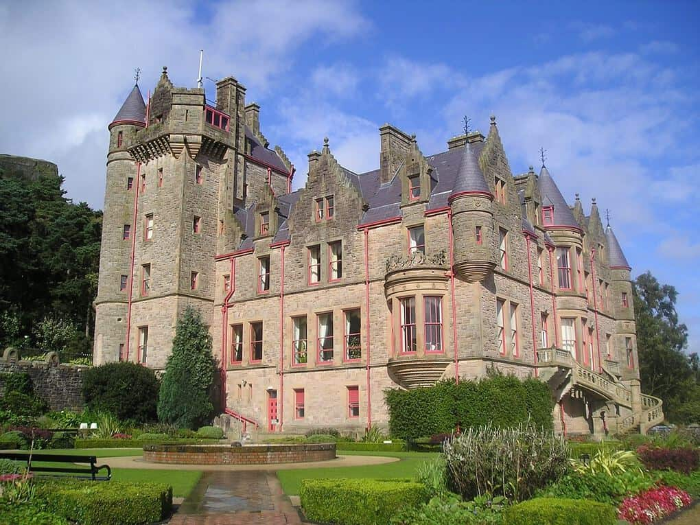 Belfast Castle in Belfast Northern Ireland