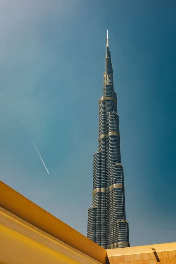 Places to visit in Dubai: Burj Khalifa in Dubai