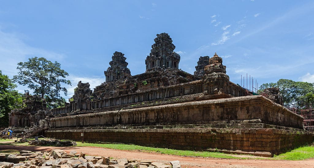 Ta Keo temple Siem Reap Cambodia