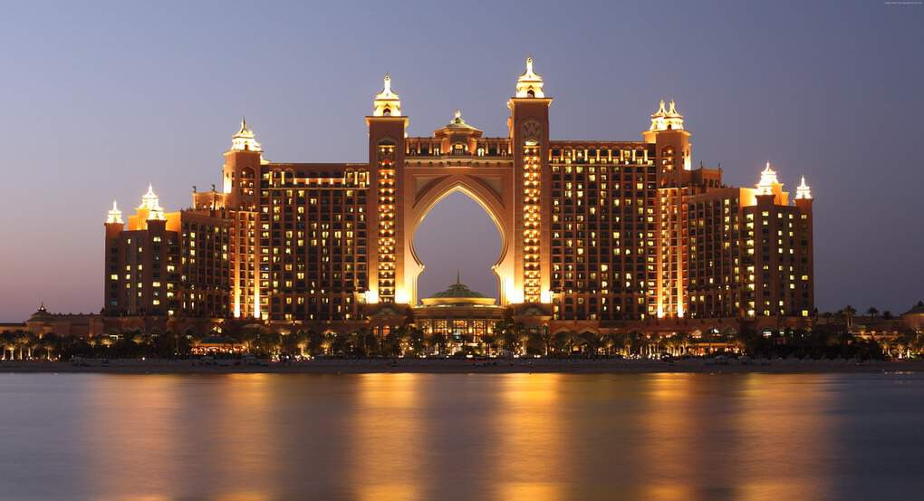 Dubai Attractions: The Palm Atlantis in Dubai City