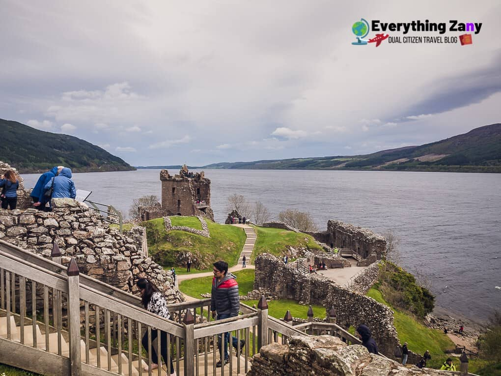 Cruise Excursion Day Trip to Loch Ness and Uruquart Castle (Scotland)