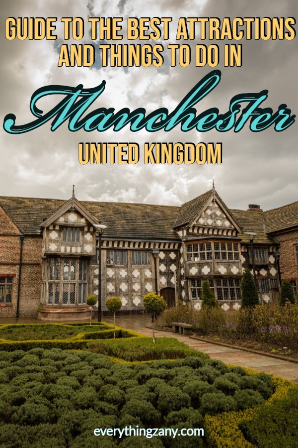 Ordsall Hall - Guide to the Best Attractions and Things to do in Manchester UK
