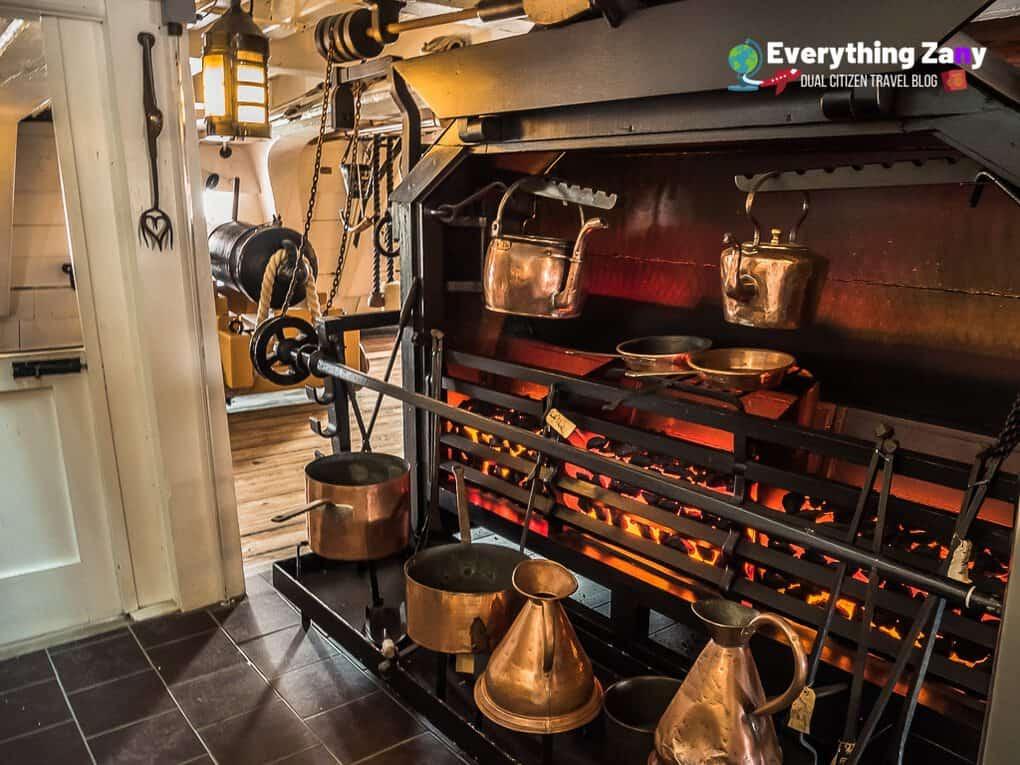 HMS Victory Galley