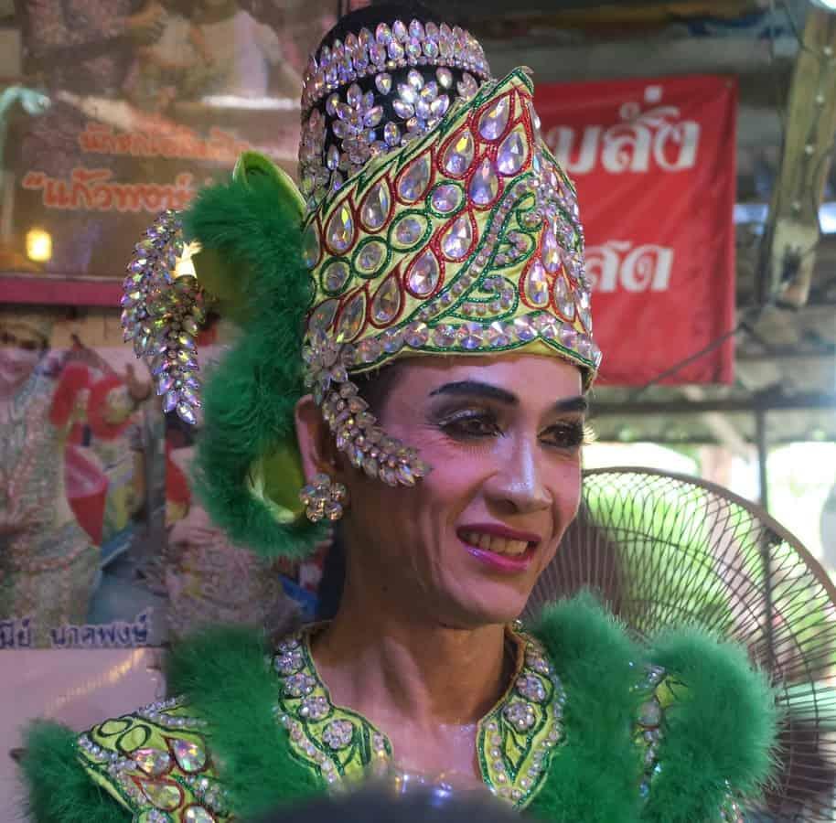 Ladyboy Show in Bangkok Thailand