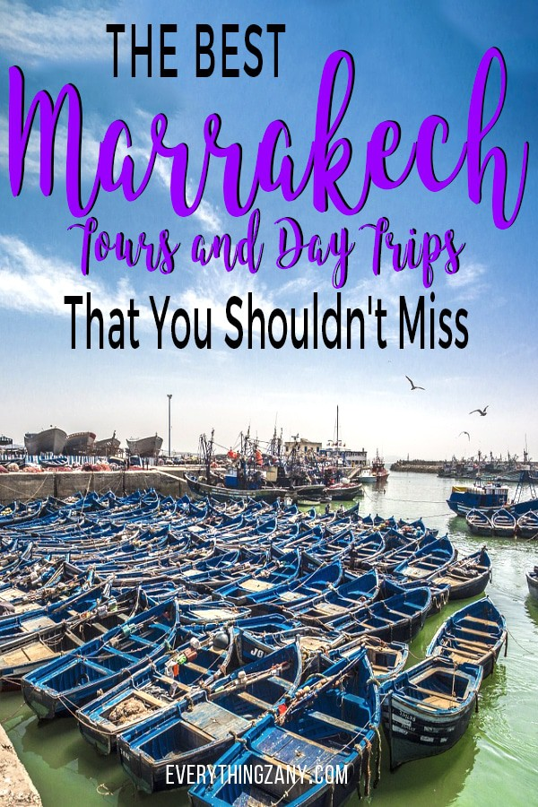 Marrakech Tours and Daytrips