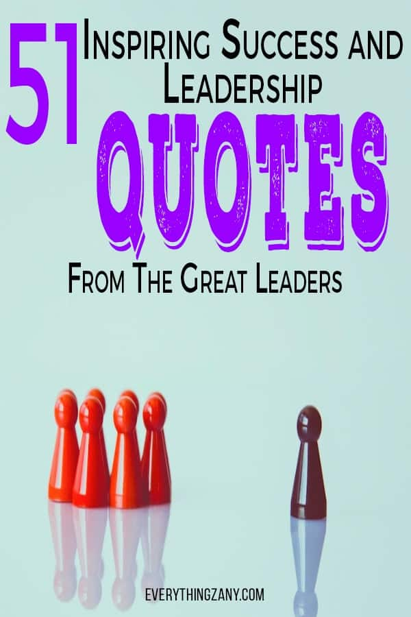 Success and Leadership Quotes