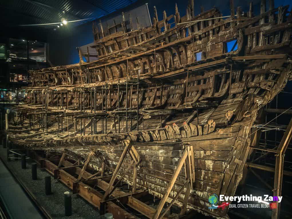The Mary Rose Tudor Warship