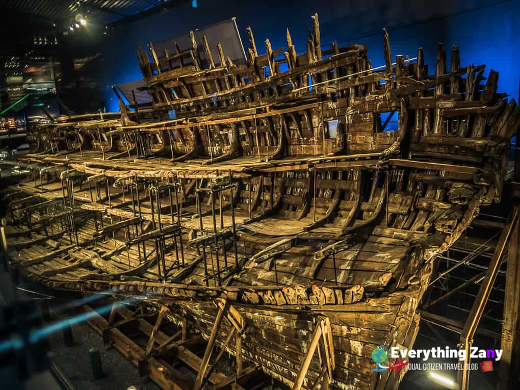 The Mary Rose in Portsmouth Historic Dockyard