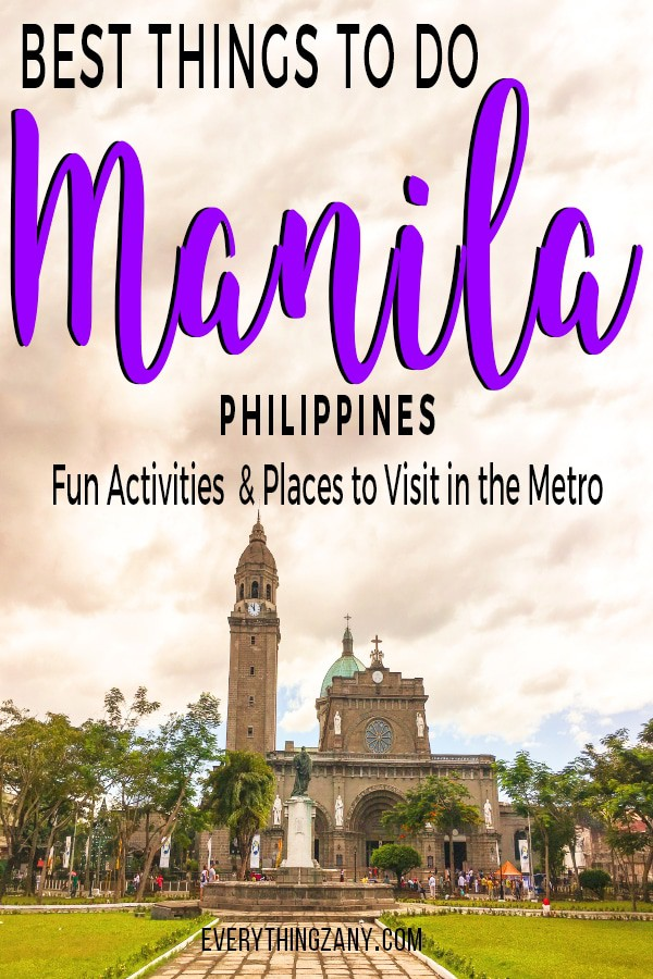 Things to do in Manila Philippines - Manila cathedral