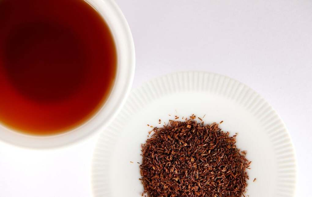 rooibos tea from South Africa