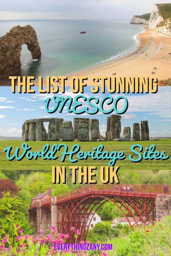 The List of Stunning UNESCO World Heritage Sites the UK