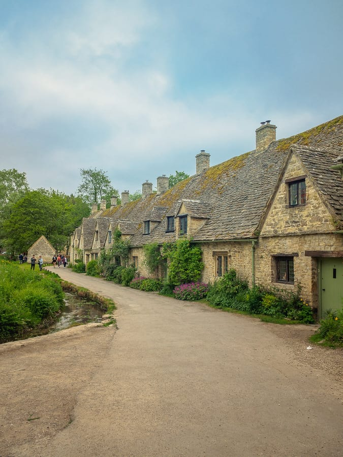 Arlington Row in the Cotswold