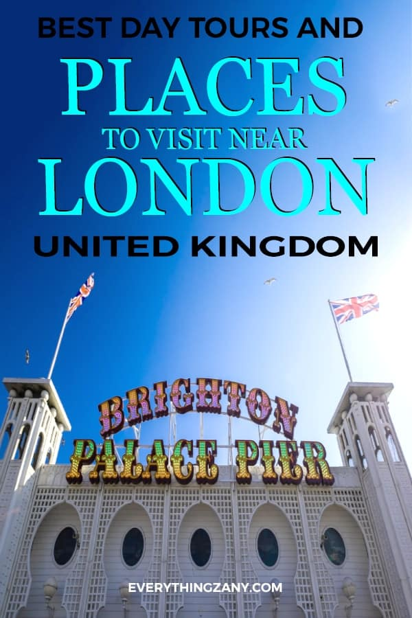 Places to visit and Day tours from London